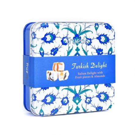 The Sweet Studio - Sultan Delight with Real Fruit Pieces Tin Boxes 125g