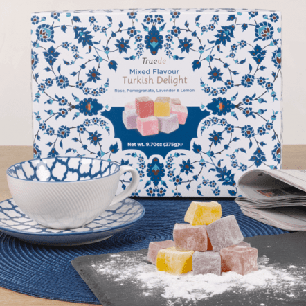 The Sweet Studio - Truede Mixed Flavour Turkish Delight 300g