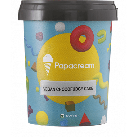 Papacream - Chocofudgy Cake ICE CREAM - 350g/500ml
