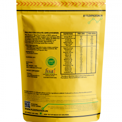 Flex Protein - European Pea Protein - Chocolate Silk- 500gm - Pan India Delivery