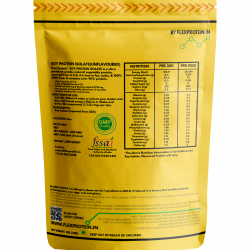 Flex Protein - Soy Protein Isolate - Unflavored - 500gm - Pan India Delivery