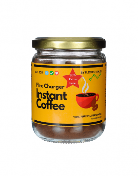 Flex Protein - Flex Charger - Instant Coffee - 100g - Pan India Delivery