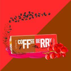 O'Greens - Coffee Berry Energy Protein Bars (Sugar Free and Gluten Free), 50g, 18 Pcs