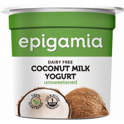 Epigamia Unsweetened Coconut Milk Yogurt