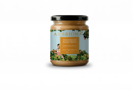 Ambriona Butter - Peanut with Cinnamon 200g