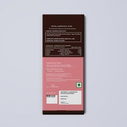 Ambriona - 70% Intense Dark Chocolate With Strawberry, 50g