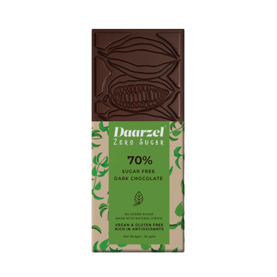 Ambriona - 70% Dark Chocolate With Mint, Sugar free, 50g