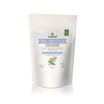 Unived  Pea Protein Isolate Vanilla - 1 Serving