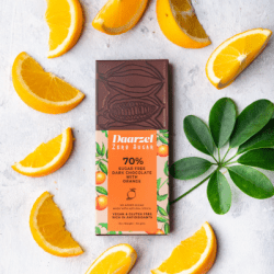 Ambriona - 70% Dark Chocolate With Orange,  Sugar free, 50g