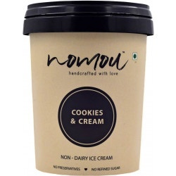 Nomou Cookies and Cream Vegan Ice cream